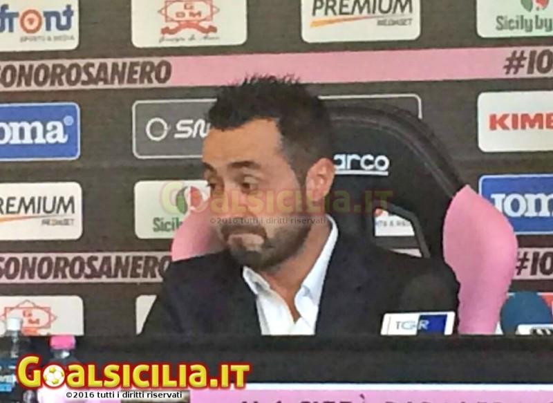 """Palermo, avanti con Corini. Il tecnico però potrebbe dimettersi"""""""