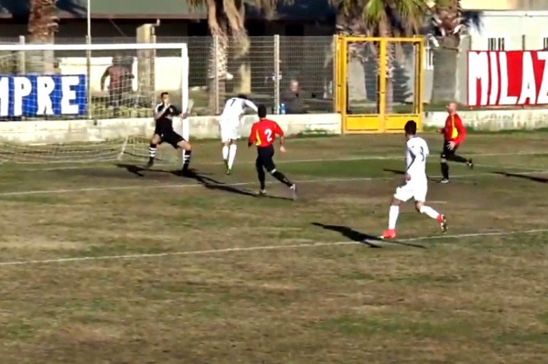 MILAZZO-JONICA 2-1: gli highlights (VIDEO)