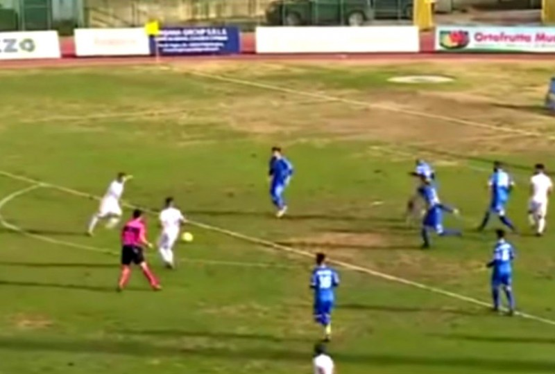 PAGANESE-SIRACUSA 1-1: gli highlights (VIDEO)