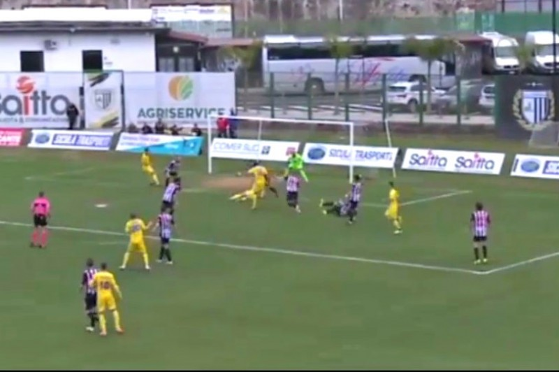 SICULA LEONZIO-PAGANESE 1-1: gli highlights (VIDEO)