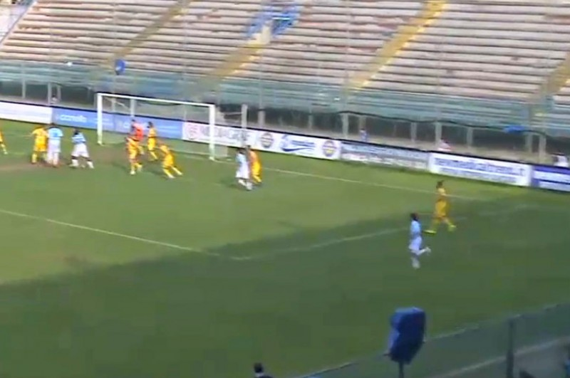 VIRTUS FRANCAVILLA-CATANIA 1-0: gli highlights (VIDEO)-Gol pazzesco di Sarao