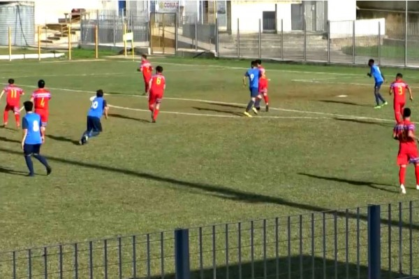 SANTA CROCE-ATLETICO CATANIA 4-0: gli highlights (VIDEO)-Eurogol di Leone