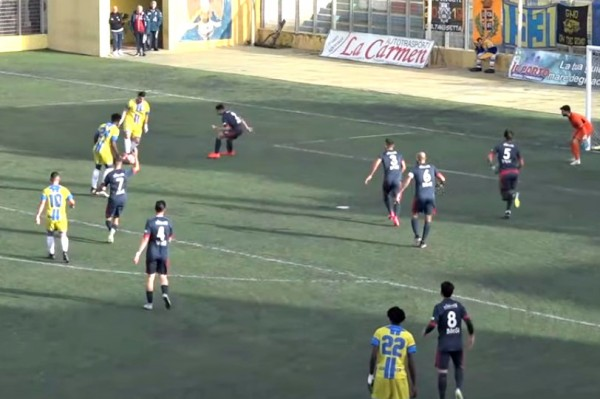 LICATA-MARINA DI RAGUSA 2-1: gli highlights (VIDEO)