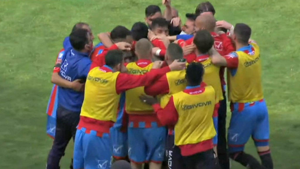 CATANIA-VITERBESE 1-0: gli highlights (VIDEO)