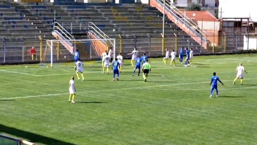 GIARRE-SIRACUSA 1-1: gli highlights del match (VIDEO)