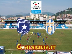 Paganese-Akragas: 2-0 il finale