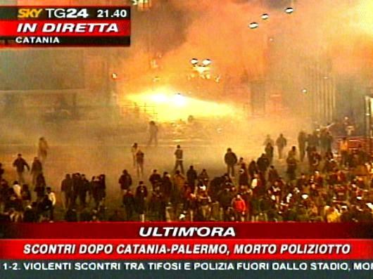 Znalezione obrazy dla zapytania derby di sicilia 2007